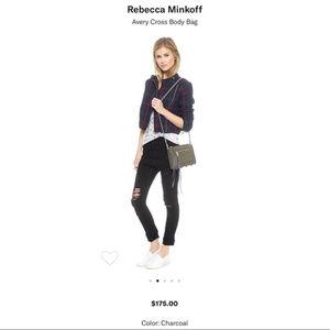 Rebecca Minkoff | Avery Crossbody Bag Grey